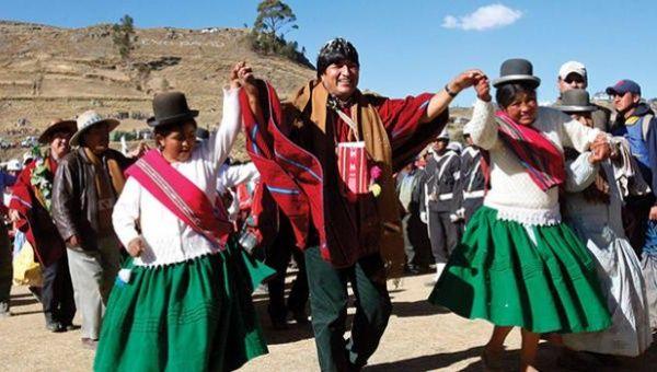 Evo Morales dignificó al sector indígena y lo convirtió en el fundamento de los planes sociales en Bolivia. (Foto: Archivo)