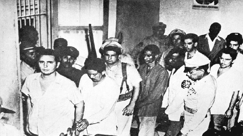 .Sin embargo, las cosas no salieron como las planearon y Fidel, junto a 121 personas son apresados.