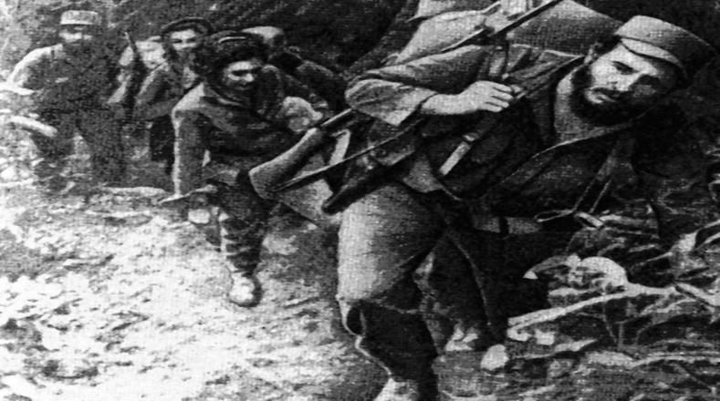 Largas jornadas de movilización de las tropas, siempre comandadas por Fidel.