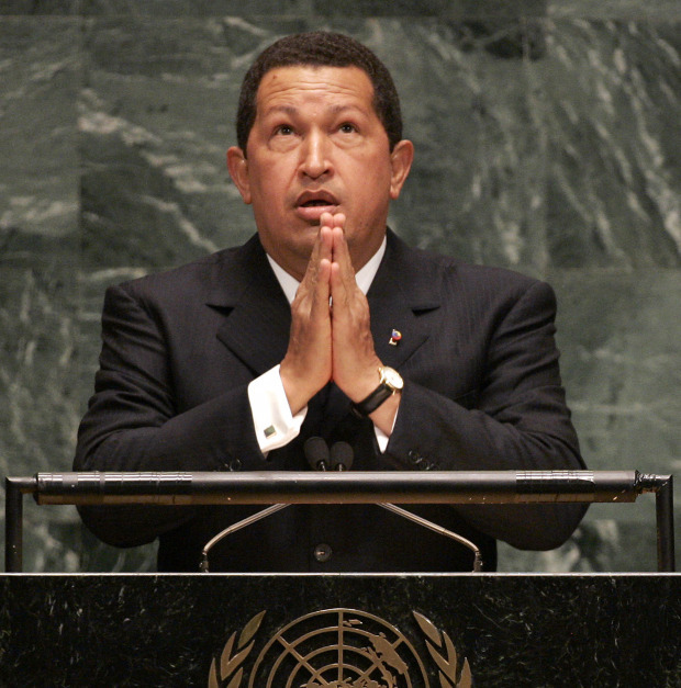 During his speech at the United Nations in 2006, President Chavez criticized U.S. President George W. Bush, famously saying the stand still had the smell of sulphur in an allusion to Bush as the devil.
