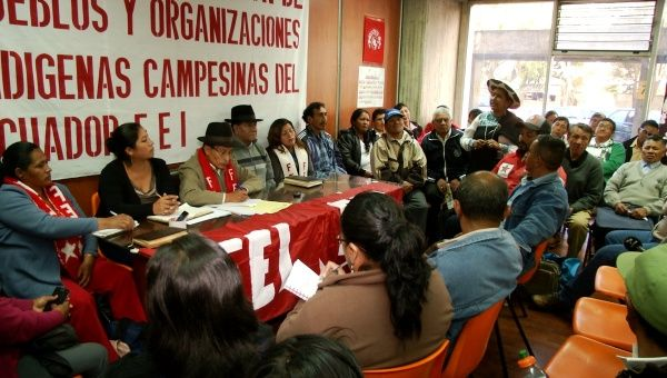 Many indigenous groups have opted to enter the national dialogue (teleSUR)