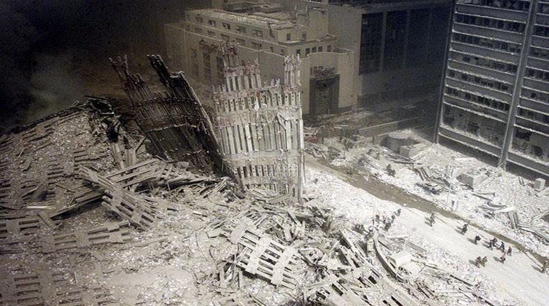 Los escombros y la desolación se hicieron protagonistas en aquel septiembre de 2001.
