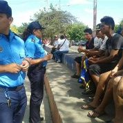 Community policing in Nicaragua.