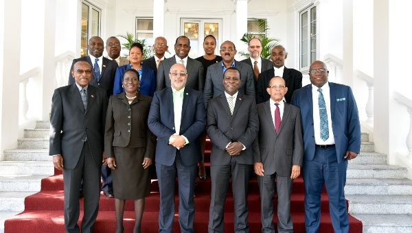 OECS Heads of Government in Roseau, Dominica