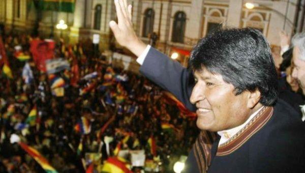"""Bolivia cuenta con una democracia profunda """"y el referendo es la mejor forma de practicar la democracia""""."""
