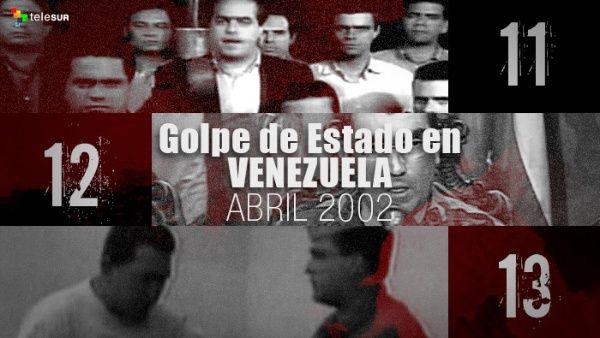 Resultado de imagen para golpe de estado a venezuela 2002