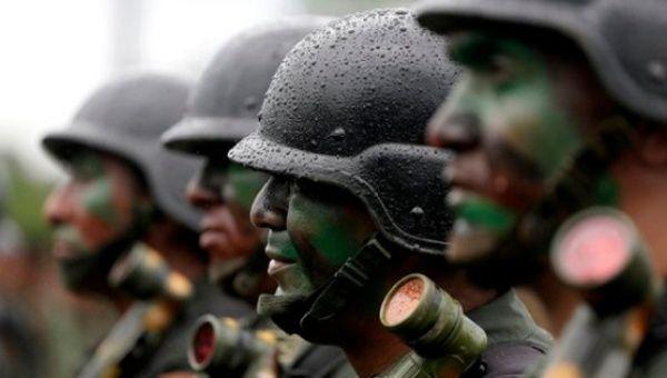 Bolivian anti-narcotics forces