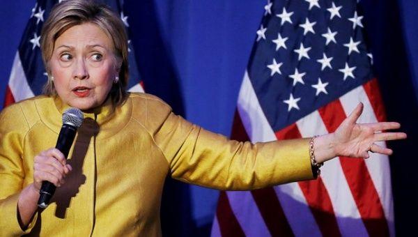 Depuis Hillary Clinton Secrétaire d'Etat a été soutenu toutes les actions du gouvernement du Parti national au Honduras.
