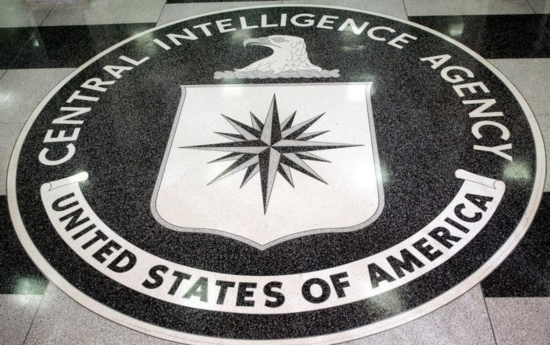 "The logo of the U.S. Central Intelligence Agency is shown in the lobby of the CIA headquarters in Langley, Virginia. Declassified documents have revealed that U.S. security agencies viewed Operation Condor as a legitimate operation designed to ""eliminate Marxist terrorist activities."""