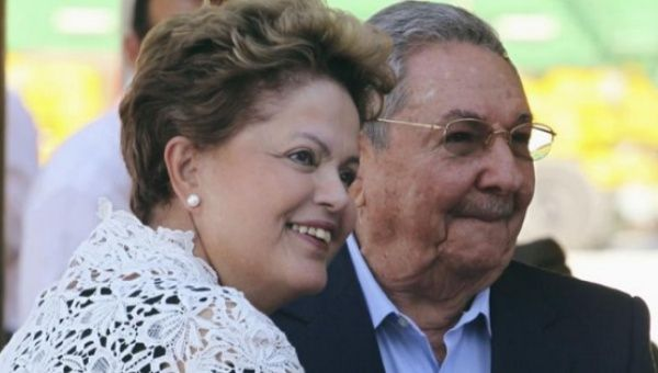Rousseff and Cuba