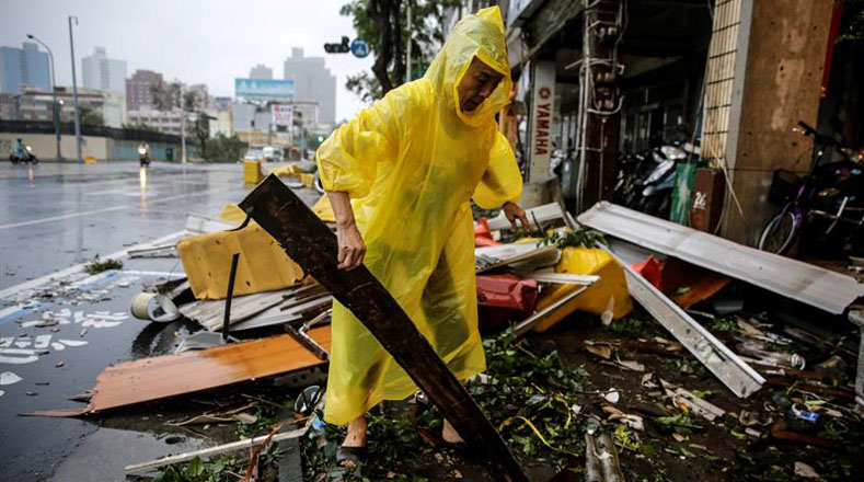 El tifón aterrizará en principio en Fujian y Cantón el jueves, y las autoridades han iniciado un programa de respuesta de emergencia.