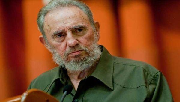 Former Cuban President, Fidel Castro.