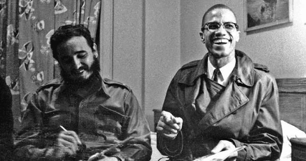 Fidel Castro y Malcom X. | Foto: Reuters