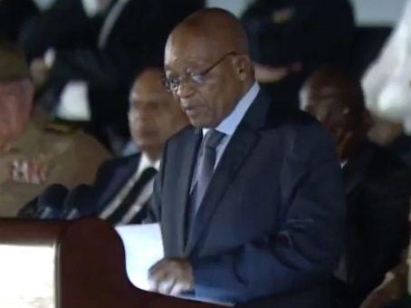"""""""La muerte del compañero Fidel es un pérdida para el pueblo sudafricano"""", manifestó el mandatario Jacob Zuma."""
