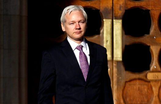 """Julian Assange a déclaré que le rapport sur la présidentielle n'a """"pas de poids d'essai."""""""
