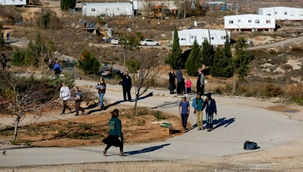 Israelis prepare for an eviction of the illegal Jewish settlement outpost of Amona.