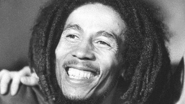 Jamaican legend Bob Marley.