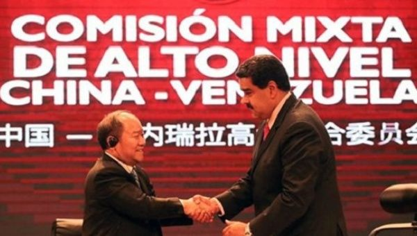 Venezuela and China have signed 22 new agreements.