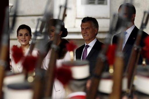 El presidente argentino Mauricio Macri ha tenido que dar explicaciones en España sobre el encarcelamiento de la líder social Milagro Sala.
