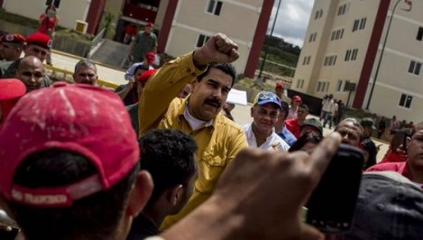 Hugo Chavez set the goal of building three million homes for the country