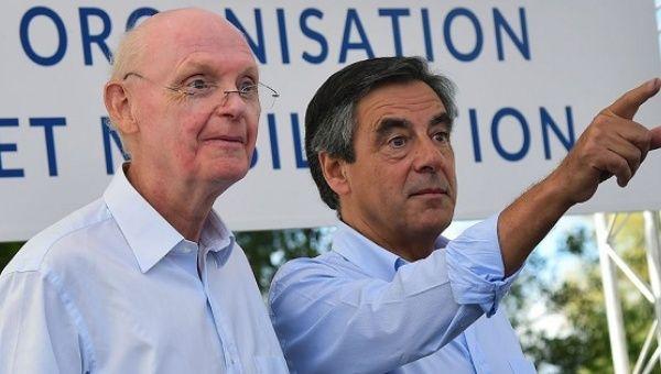 Patrick Stefanini and Francois Fillon.