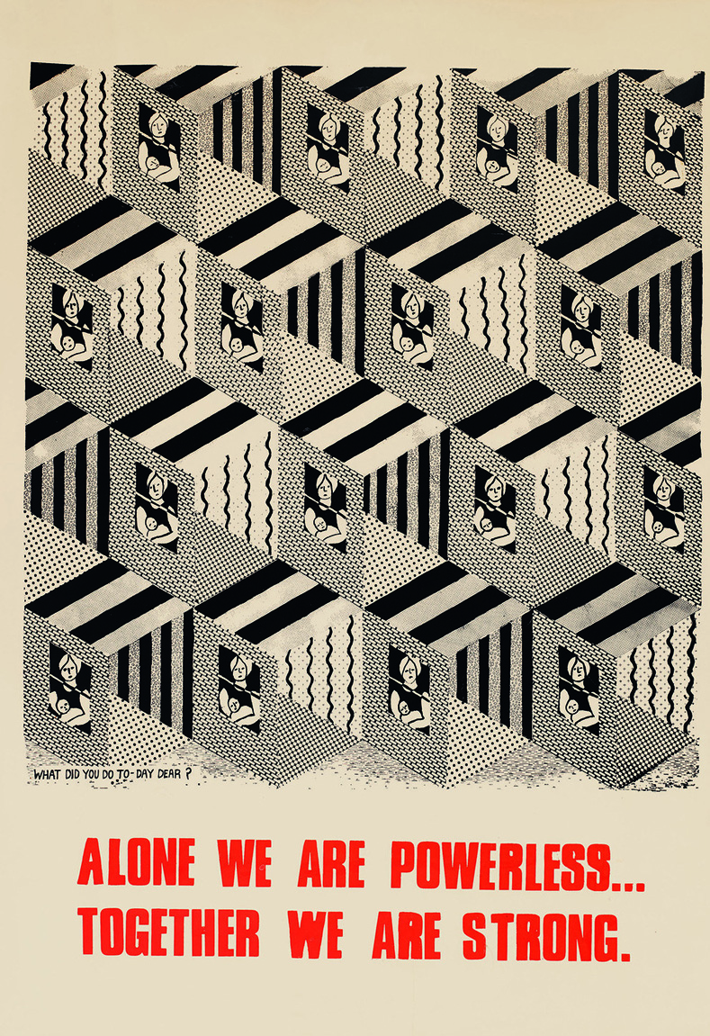 """""""Alone We Are Powerless, Together We Are Strong,"""" United Kingdom, 1976"""