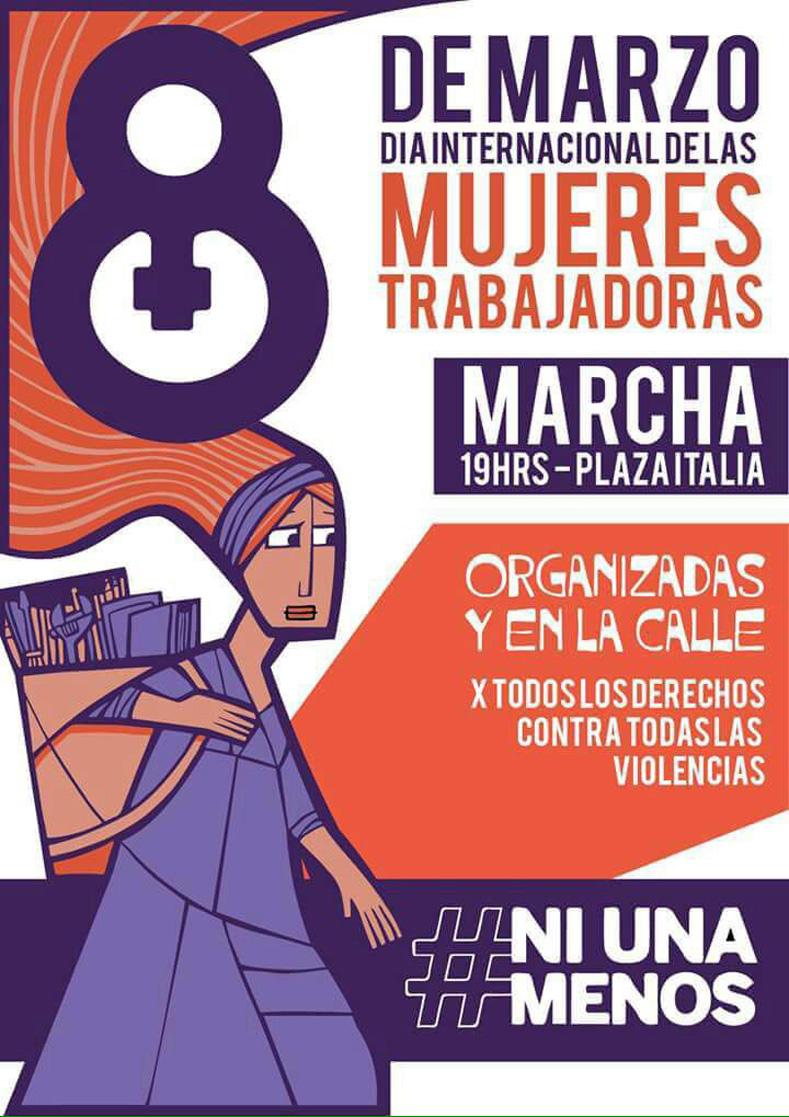 Poster promoting an International Women
