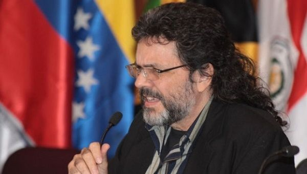 Cuban Minister of Culture Abel Prieto Jimenez.