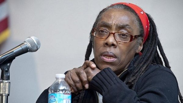 Ramona Africa, sole living survivor of U.S. bombing of the MOVE home in Philadelphia.