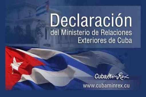 Cuba apoya a Venezuela ante la campaña de Luis Almagro contra Venezuela.