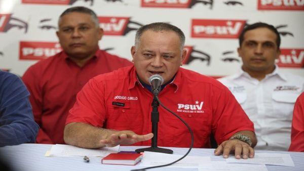 El primer vicepresidente del Partido Socialista Unido de Venezuela repudió el accionar de la OEA.
