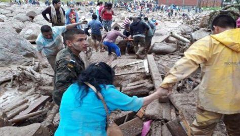 Las condiciones climatológicas en Mocoa podrían empeorar con la llegada del invierno.