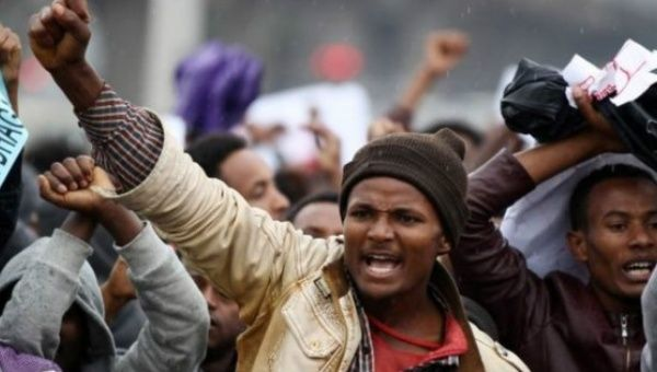 International rights groups have said that hundreds of people have lost their lives in police-protester clashes in Ethiopia.