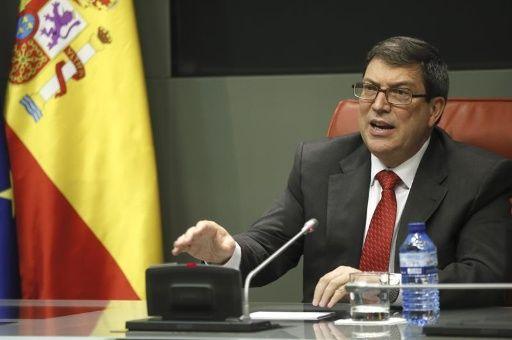 Canciller de Cuba, Bruno Rodríguez, reitera apoyo de la isla caribeña a Venezuela.