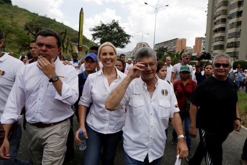 Desde el pasado martes 4 de abril, representantes de la MUD han convocado a sus seguidores a manifestarse en las calles de la capital venezolana, Caracas.