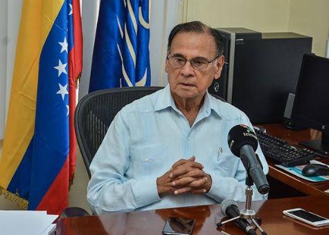 El embajador de Venezuela en Cuba, Alí Rodríguez Araque.