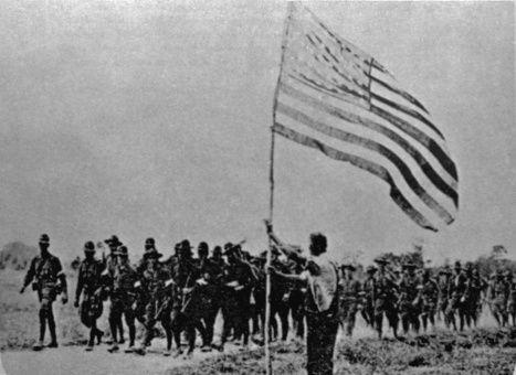 En mayo de 1916, Estados Unidos realizó la Primera invasión militar a República Dominicana.
