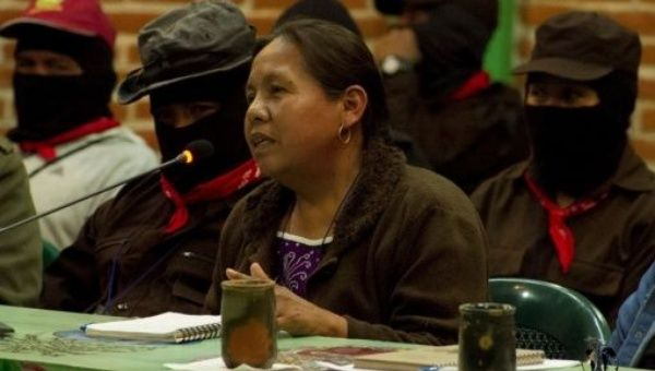 Marichui is a traditional doctor in her community and a long-time leader in the Indigenous movement.