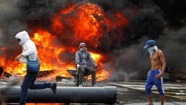 Right-wing opposition protesters in Venezuela have left over 70 dead.