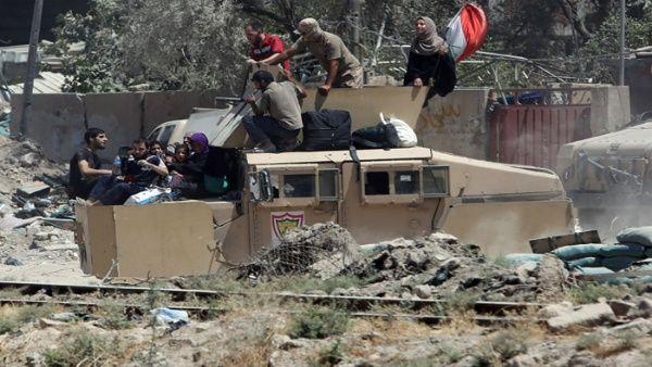 En Mosul se fragua una dura batalla entre el Ejército de Iraq y Daesh.