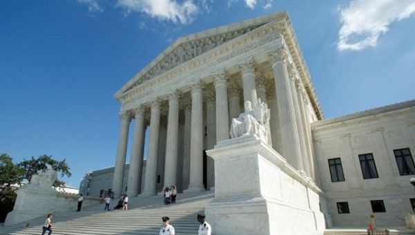 U.S. Supreme Court building in Washington, D.C., U.S.