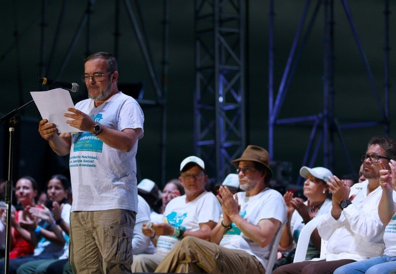 """""""Today is not the end of the FARC, it"""