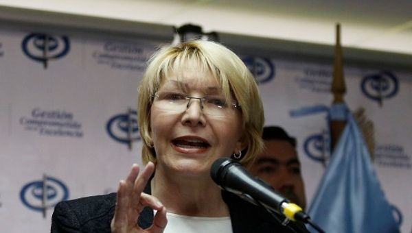 Venezuelan Attorney General Luisa Ortega Diaz.
