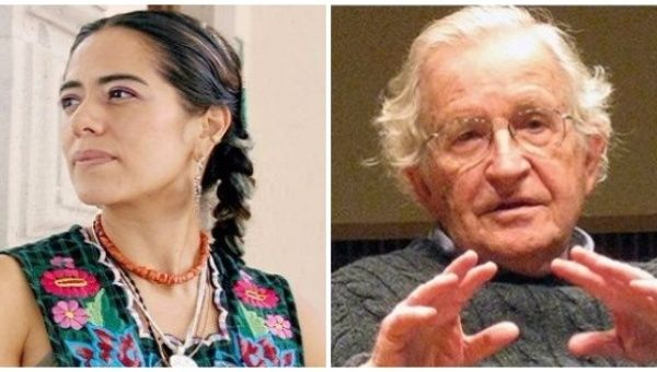 Lila Downs and Norm Chomsky