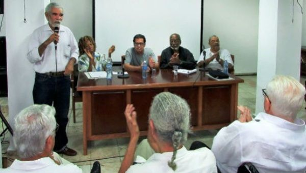 The First Itinerant Poetry Festival of Our Americas in Cuba.