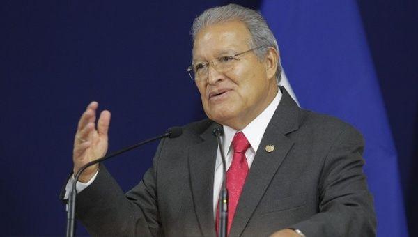 El Salvador's President Salvador SanchezCeren defended Maduro at Nicaragua