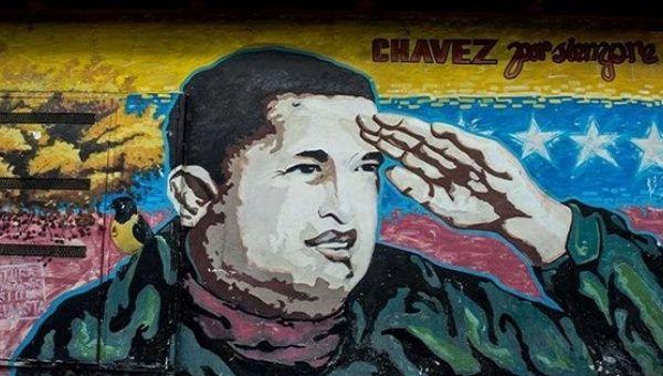 Mural of Venezuela