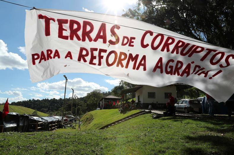The sign outside Teixeira
