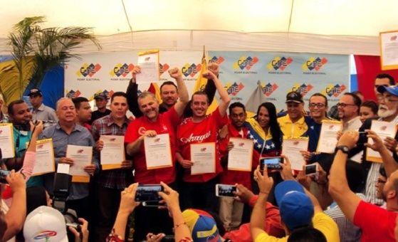 En los comicios del domingo, más de ocho millones de venezolanos eligieron los537 constituyentistas.