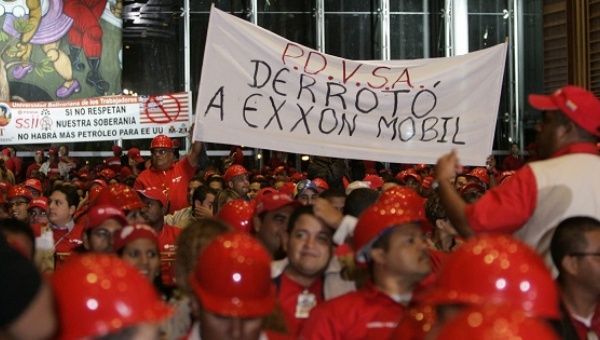 A WikiLeaks cable has revealed U.S. oil interests in Venezuela.